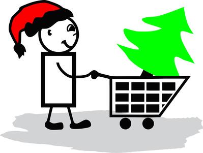 Искусственные елки. Цены на новогодние деревья